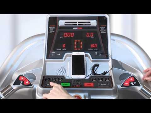 Homeform Hf 200 Mp3 Tapis De Course Tool Fitness Youtube