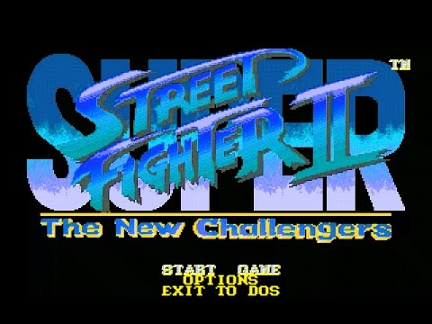 Ken - SUPER STREET FIGHTER II for DOS