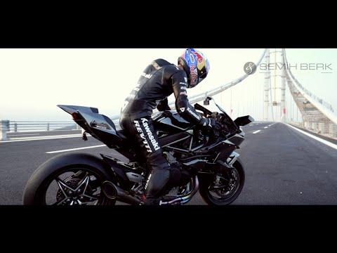 400 km/h Speed by Kenan Sofuoğlu Osman Gazi Bridge - Turkey