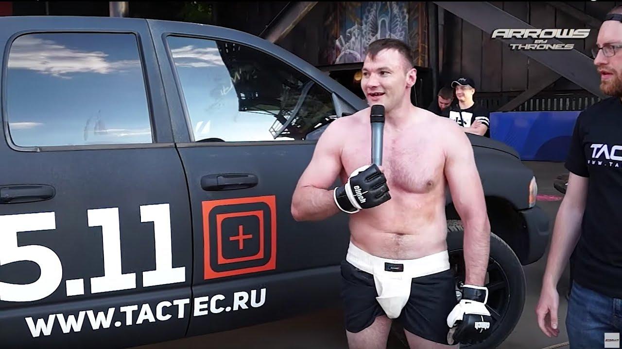 ВЕТЕРАН ВОЙНЫ против Бойца ММА !!!