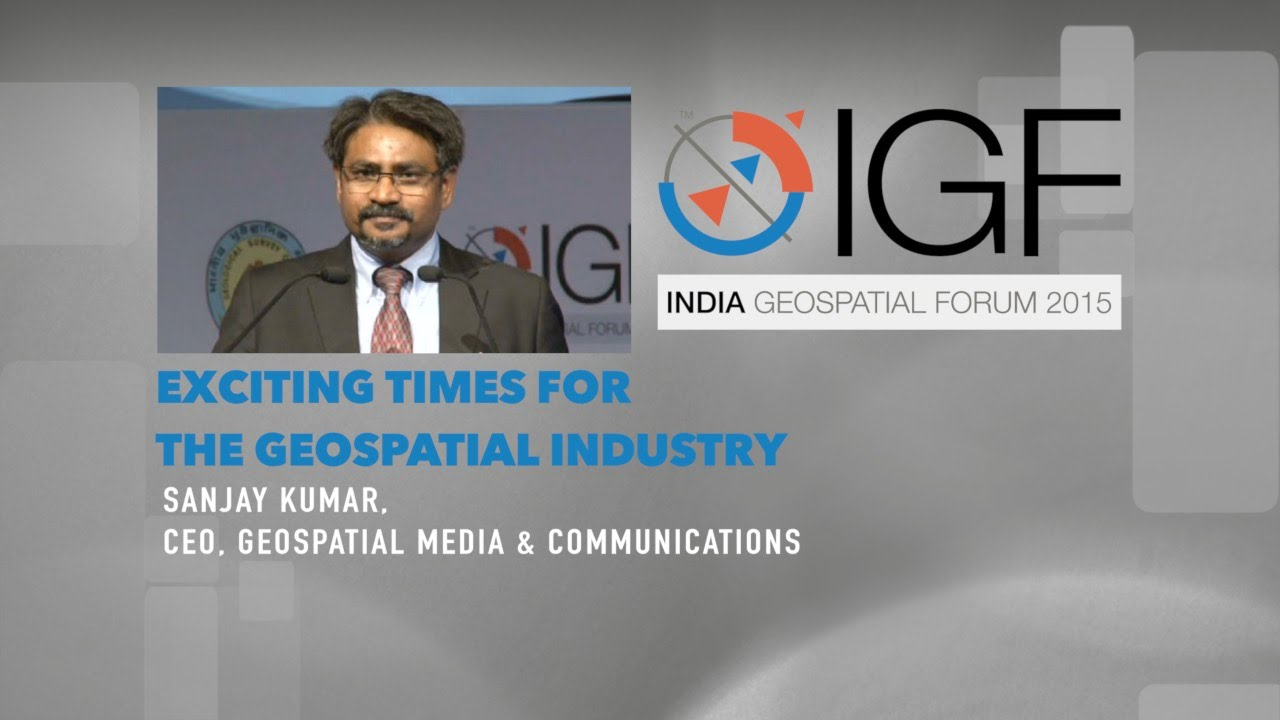 Exciting Times for The Geospatial Industry