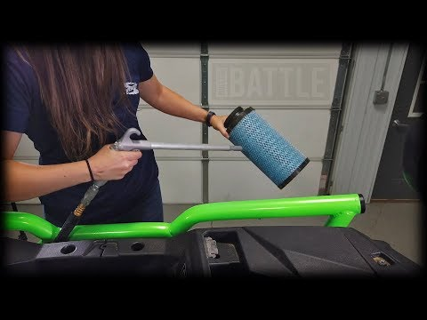 How to check/clean air filter on Polaris RZR XP1000/ XP Turbo | Maintenance Matters