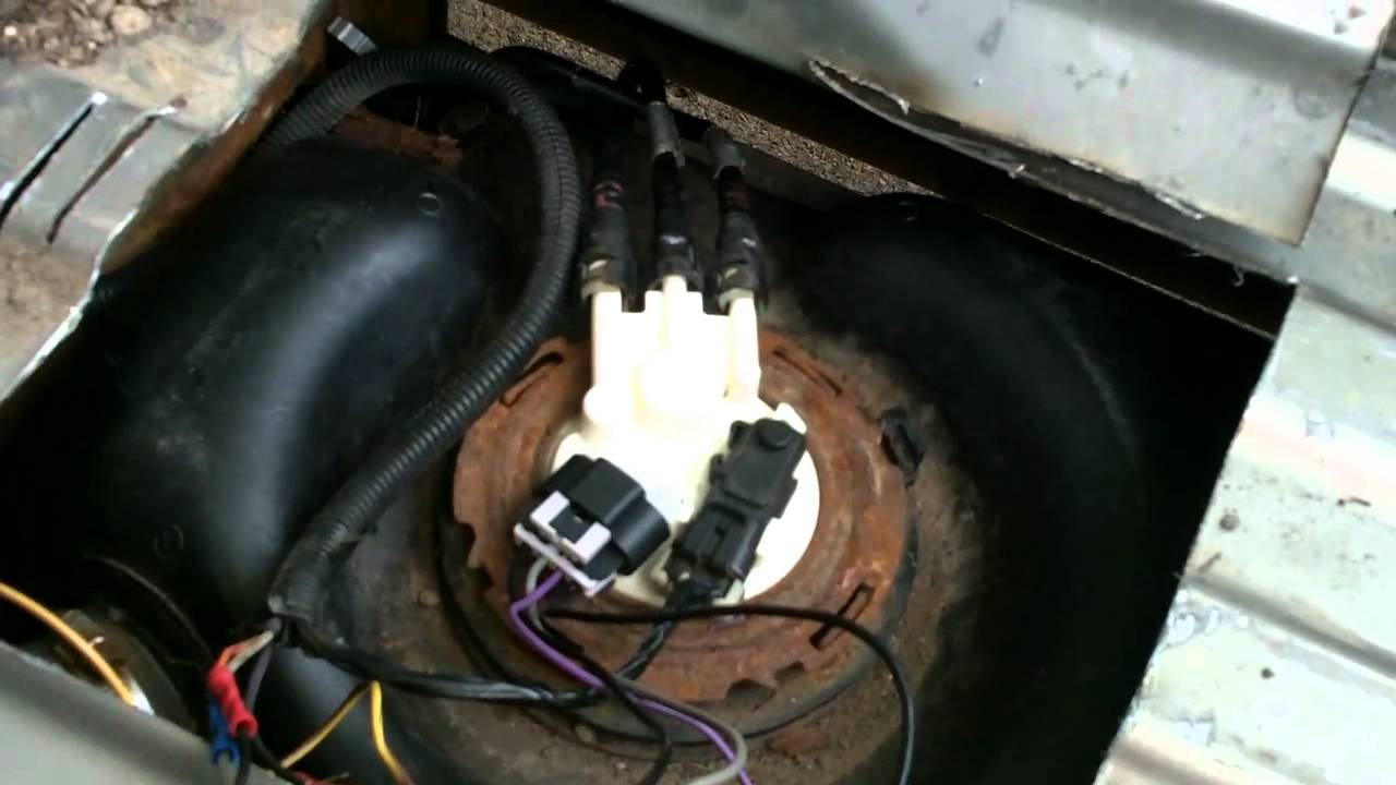 GMC  SILVERADO pickup quick fuel pump fix  YouTube