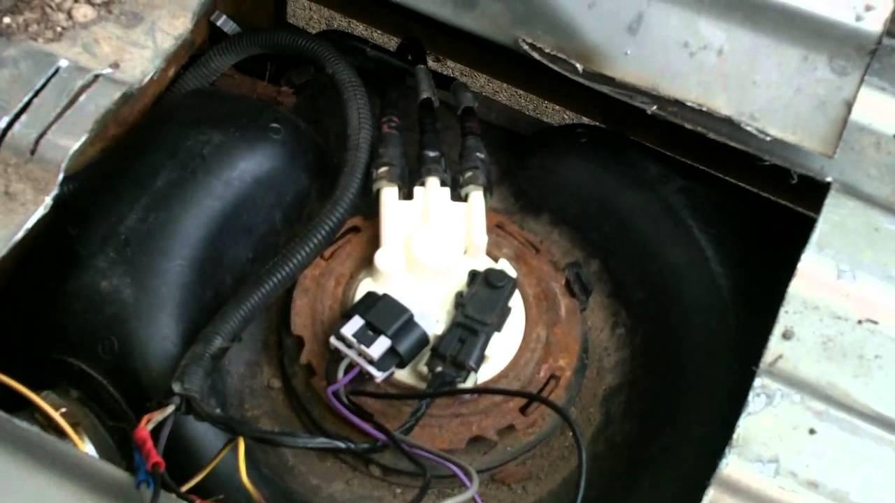 GMC  SILVERADO pickup quick fuel pump fix  YouTube