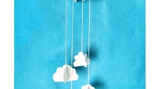 How To Make A Cute Cloud Wall Decoration - Diy Home Tutorial - Guidecentral