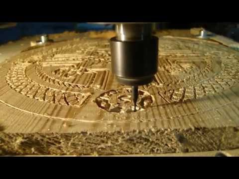 Celtic Compass Cnc Engrave Using F Engrave Youtube