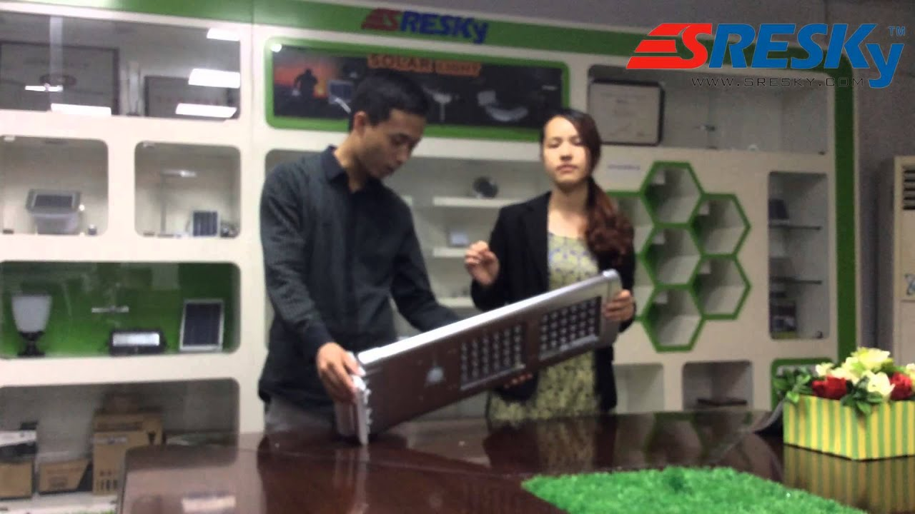 The unique new solar light product  is only for  you(ESL-16 Solar street light)