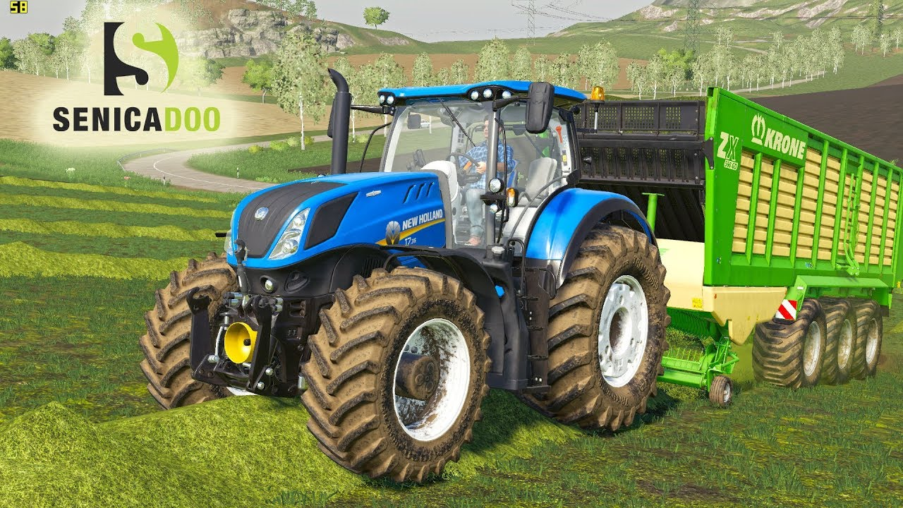 Farming, simulator 19 : Poplars, farming
