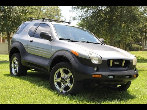 2000 isuzu vehicross for sale 7-30-2015 32771 sanford fl - youtube