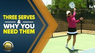 Pickleball 411: Three Serves and Why You Need Them