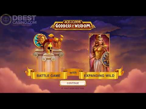 Age Of The Gods - Goddess Of Wisdom - Big Win