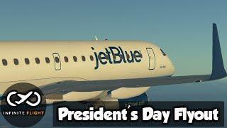 Infinite Flight • President's Day Flyout • E190 • Multiplayer