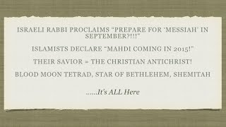 Prominent Rabbi Declares Something Happening In September - Major Signs Appear in Heaven!