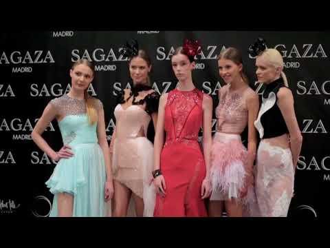 Sagaza Madrid Backstage with Victoria's Secret  Model Michaela Kocianova