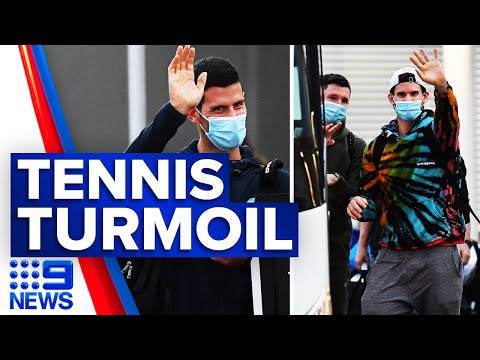 Coronavirus: Four cases linked to Australian Open | 9 News Australia thumbnail