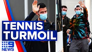 Coronavirus: Four cases linked to Australian Open | 9 News Australia