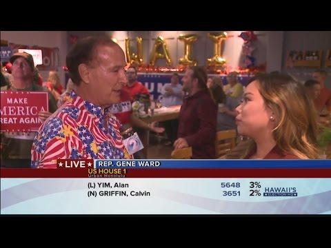 Hawaii Republicans celebrate Trump