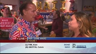Hawaii Republicans celebrate Trump's presidential victory