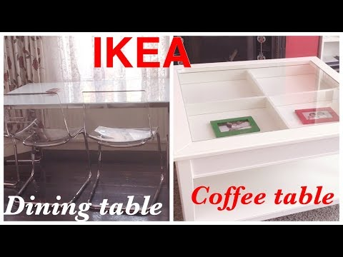 Ikea Dining Table And Coffee Table Uk Youtube