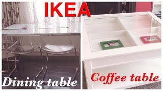 Ikea Dining Table And Coffee Uk Youtube