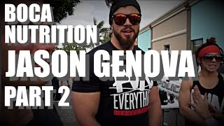 PART 2 | BOCA NUTRITION |JASON GENOVA