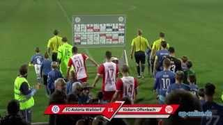 FC-Astoria Walldorf vs. Kickers Offenbach : Höhepunkte und Stimmen