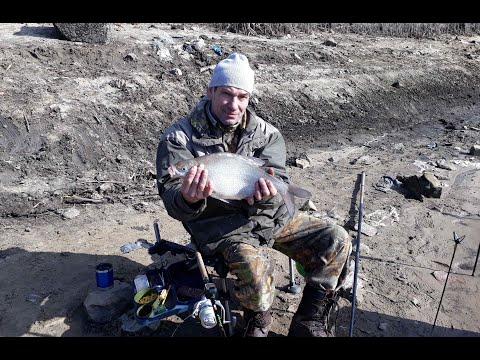 Рыбалка на Москве-реке. Новая для меня точка.  18 марта 2020