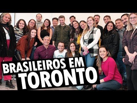 DEPOIMENTOS de BRASILEIROS em TORONTO - ENCONTRO CANADÁ DIÁRIO
