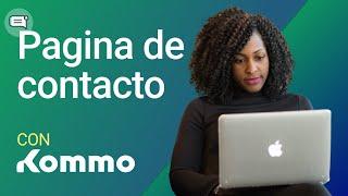 Página de contacto  | Ventas conversacionales en amoCRM