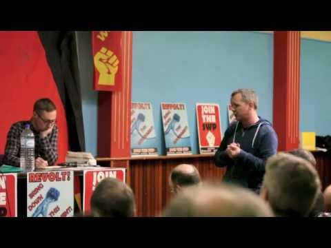 Marxism 2014 The way forward for the Left & Republicanism, Kieran Allen & Cllr Eoin O'Broin