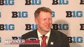 HOL HD: Scott Frost from Big Ten Media Days