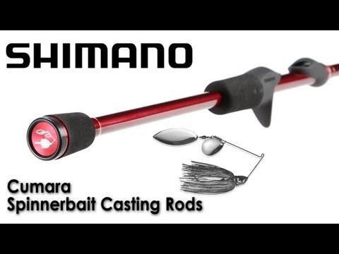 Shimano Cumara Spinnerbait Casting Rods