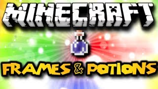 Minecraft 1.4 - Frames and Invisible Potions?! (HD)