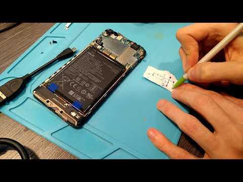 📞 Смартфон Zenfone 4 MAX не работал из за блошиных деталей 📲