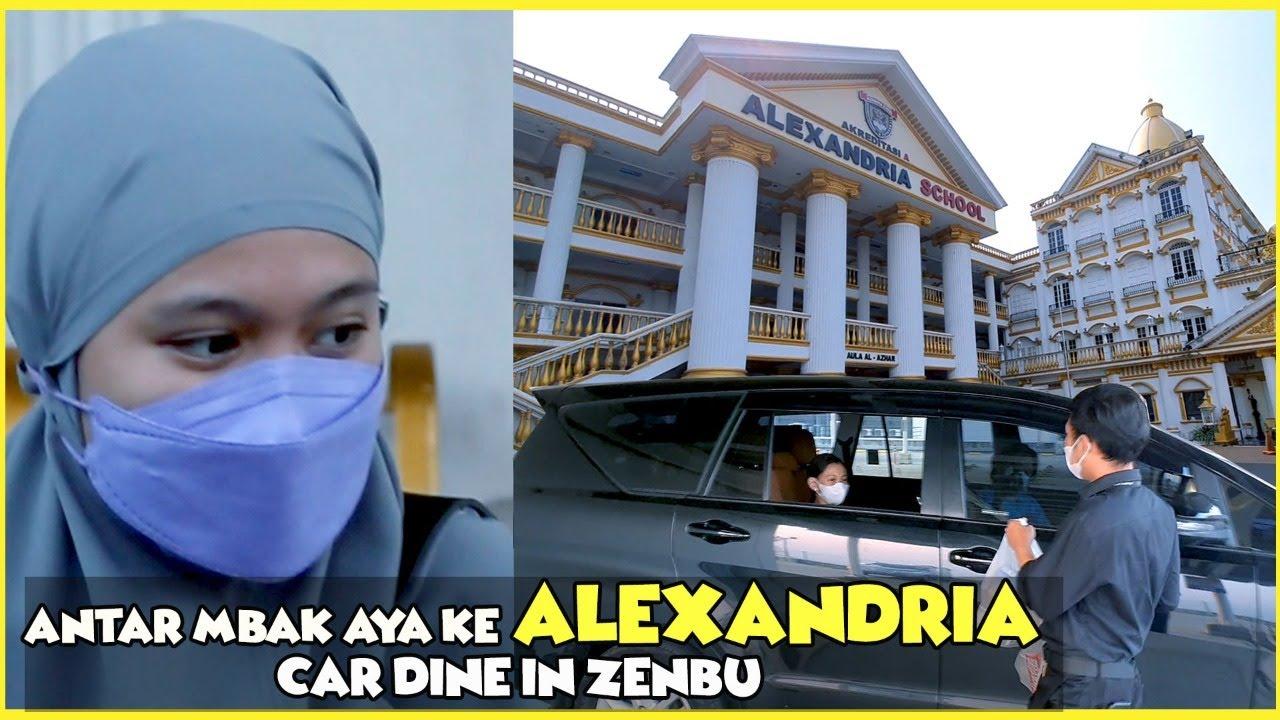 MEREKA HARUS BERPISAH.....??? LAYLA MASUK ASRAMA ALEXANDRIA ZARA SENDIRIAN REVIEW DRIVE DINE IN AEON