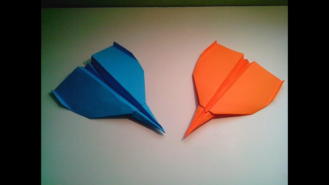 Como hacer un avi n de papel r pido origami youtube - Como hacer un estor enrollable paso a paso ...