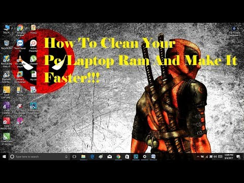 Hot To Clean Ram of PC/LAPTOP and Make it Faster!!!