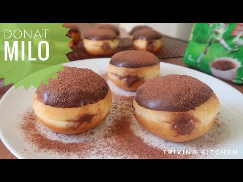 resep-donat-milo,-lembut-dan-empuk- -milo-donuts-recipe