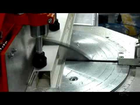 Aluminium Cutting Machine Youtube