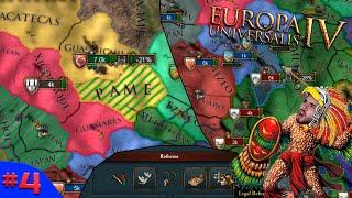 INVASÃO AO NORTE E TERCEIRA REFORMA! - Europa Universalis 4 #4 - (Gameplay/PC/PTBR) HD