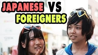 Ask Japanese about the difference to Foreigners 日本人と外国人の違い?