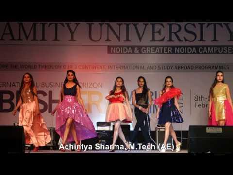Inbush Era 2017, Lady Irwin College-Delhi University Fashion Walk/ Show at Amity University, Noida
