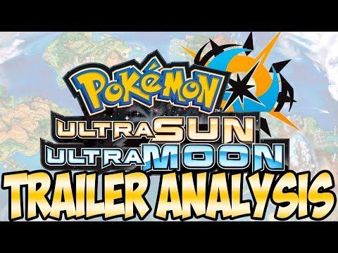 Pokemon Ultra Sun and Ultra Moon Trailer Analysis | Austin John Plays