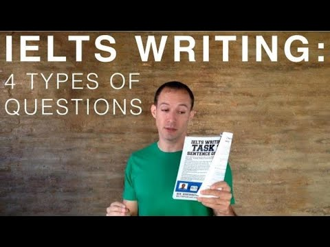 TOEFL Essay - Question Types