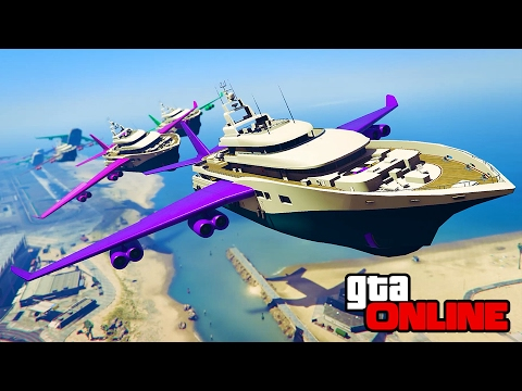 YACHT ANTICS, CARGO BOATS & MORE! || GTA 5 Online || PC (Funny Moments)