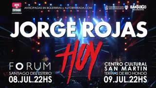Jorge Rojas - Próximos Shows