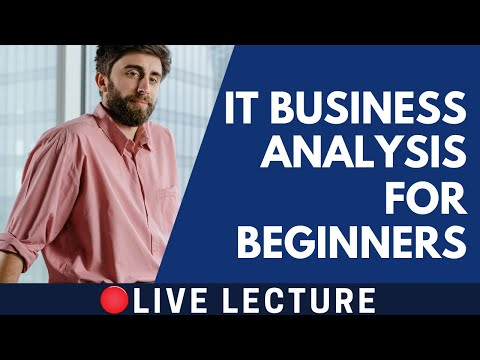 IT Business Analysis Live Lecture - Trainer V S Shukla