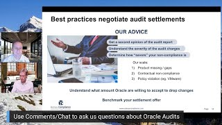 How to negotiate an Oracle Audit Settlement
