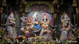 Sringar Arati Darshan Sri Sri Radha Rasbihari Temple 15th Aug 2018 Live from ISKCON Juhu, Mumbai