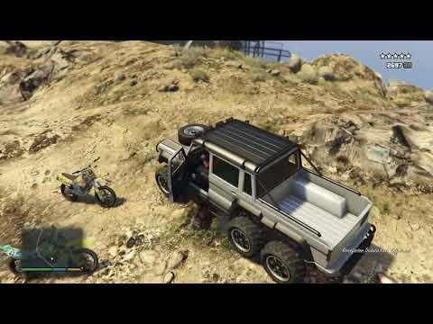 GTA 5 - Franklin, Michael and Trevor/Five Star Escape From MOUNT CHILIAD # 13